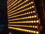 indicatore luminoso impermeabile della rondella della parete di 9X3 LED DMX512 LED, indicatori luminosi esterni del LED