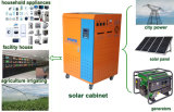 Inverer +Controller+Batteryの10000W Solar Power System Built
