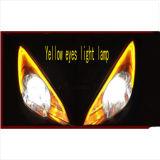 Tagesdes positionslampe-Auto-LED Engels-des Augen-DRL Auto DRL Drehung-Signal-flexibles Scheinwerfer-Über-Kreuzdes streifen-60cm Tagesdes licht-LED