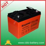 bateria profunda 100ah do AGM da bateria do UPS da bateria de armazenamento do gel do ciclo 12V
