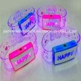 Metion Sensor LED Flashing Bracelet mit Logo Printed (4010)