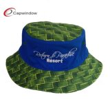Moderner Fisher Man Bucket Hat mit Embroidery (1508)