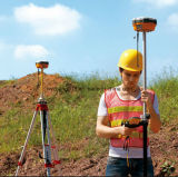 土地Survey High Precision Surveying Equipment Gnss BaseおよびRover二重Frequency Rtk GPSのための地勢Equipment GPS