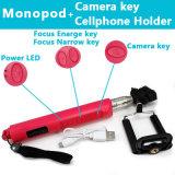 Vara Foldable de Monopod Bluetooth Selfie da alta qualidade com zumbido