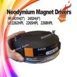 """2452h 4 """"ダイヤフラムのチタニウムの角の圧縮ドライバー"""