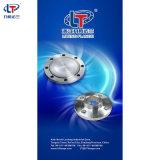 Bride borgne d'acier inoxydable de la norme ANSI B16.5/DIN pour l'industrie