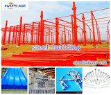 Entrepôt et atelier personnalisés avec la structure de bâti en acier de la bonne qualité