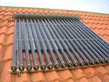 Colector solar a presión de cristal del tubo de vacío del tubo de calor del nuevo metal 2016