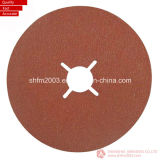 """Zirconia 4 """", 4.5 """", 5 """" et 7 """" et disque de fibre d'oxyde d'aluminium pour l'industrie de meubles"""
