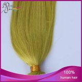 Extensão reta não processada do cabelo humano do Virgin malaio