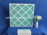 Filtro de aire de la fibra de vidrio con el marco de la cartulina para el aire acondicionado