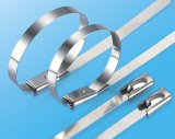 Atadura de cables del bloqueo del uno mismo del acero inoxidable para contener