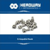 歯科矯正学のアクセサリ、セリウムが付いているCrimpableの短いホック