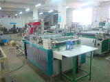 Seitliches Sealing Plastic Garment Bag Making Machine mit Folder