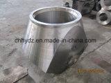 Té-Ajustage de précision inoxidable modifié chaud du matériau A182 F22