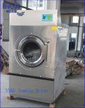 Hospital de 35kg de lavandería secadora a gas
