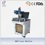 Machine d'inscription de laser de fibre de haute performance pour des pièces en métal