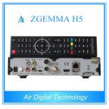 Décodeur satellite DVB S2 DVB T2 DVB C Support Kodi Hevc / H. 265 avec IPTV Véritable Zgemma H5