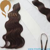 ボディ波の人間のRemyの毛の綿の糸の毛の拡張