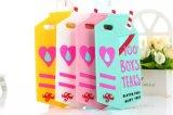 iPhone аргументы за силикона коробки молока разрывов мальчиков способа 3D милое 100%