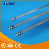 China-Großhandelsmarkt-Verriegelungs-justierbarer Edelstahl-Kabelbinder