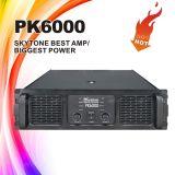 Pk6000 de Ongelooflijke Correcte Versterker van DJ van de Prestaties van de Hoge Macht Levende (3 Jaar van de Garantie)