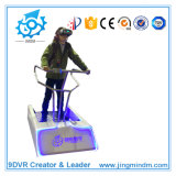 2016最も熱いSale Vr Vibration 9d Simulation Machine Dof Electric Platform Standing Dymanic Roller Coaster Simulator Equipment