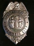 La polizia militare britannica dell'oro di alta qualità del metallo antico di finitura Badge