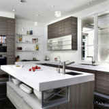 Controsoffitto di pietra artificiale di superficie solido moderno della cucina e della stanza da bagno