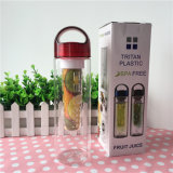bottiglia di acqua di 700ml Shaker Leak Proof Removable Fruit Infuser