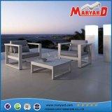 Meubles confortables de jardin de Polywood avec l'armature en aluminium