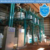 Moulin à farine de maïs de moulin de rouleau de la Zambie (20t 30t 50t 100t)