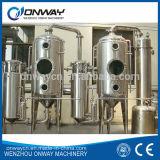 Une évaporateur efficace plus élevée de jus de fruits de lait de laiterie d'évaporateur de lait d'acier inoxydable de prix usine de Sjn