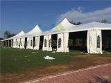 屋外PVC屋根結婚式のイベントのための上の常置展覧会党テント
