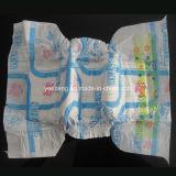 Precio barato de la fábrica del pañal del bebé de China con el PE Backsheet