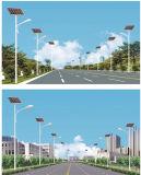 luz de rua 10m solar com luz solar do diodo emissor de luz 90W