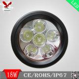 indicatore luminoso del lavoro di disposizione LED della prugna 18W per l'automobile (HCW-L1868)