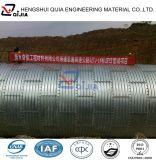 Tubo acanalado galvanizado el mejor precio de la alcantarilla del metal