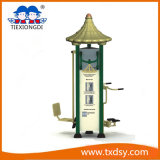 Elderly를 위한 주문을 받아서 만들어진 Park Steel Outdoor Fitness Equipment