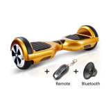 Motorino elettrico dell'equilibrio astuto di auto della rotella dell'oro due