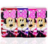 Caisses mignonnes roses rouges noires pourprées de téléphone de silicones de Minnie pour Samsung J7 (XSD-005)