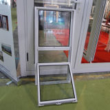 Покрынный порошком алюминиевый тип США профиля Kz360 поднимается вверх & вниз окно