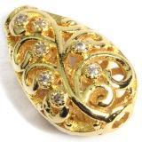 CZ 입방 지르코니아는 구리 금관 악기 보석 구슬 마이크로 조정 팔찌 목걸이를 포장한다