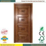 Porte en bois en bois d'hôtel de porte intérieure de porte intérieure