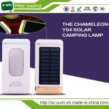 LEDライトが付いている小型ドアの太陽エネルギーバンク