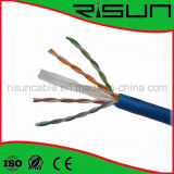 No blindado CAT6 Cable de red con LSZH chaqueta / LSOH PVC