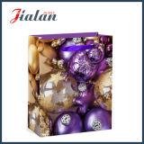 顧客用4cによって印刷されるクリスマスのショッピングキャリアのギフトの紙袋