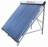 Não coletor solar da água quente de tubulação de calor da pressão