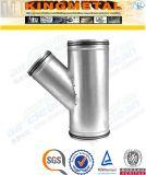 A403 Wp316/304のステンレス鋼Yのタイプ側面ティーの管付属品