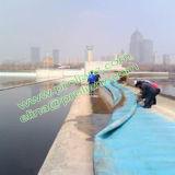 Barrage en caoutchouc gonflable rond de la Chine vers Le R-U